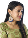 Blue Mumtaz Designer Earrings