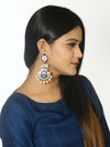 Blue Pankaj Designer Earrings