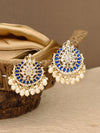 Blue Roopsha Designer Earrings
