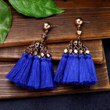 Bluebell Tassel Earrings - Bling Bag