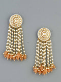 Brown Heer Designer Earrings