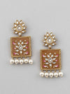 Brown Kalavati Designer Earrings
