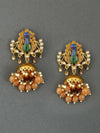 Brown Mayureshwar Golden Jhumki