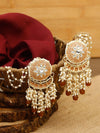 Brown Ranvijay Designer Earrings