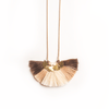 Chestnut Tassel Necklace - Bling Bag