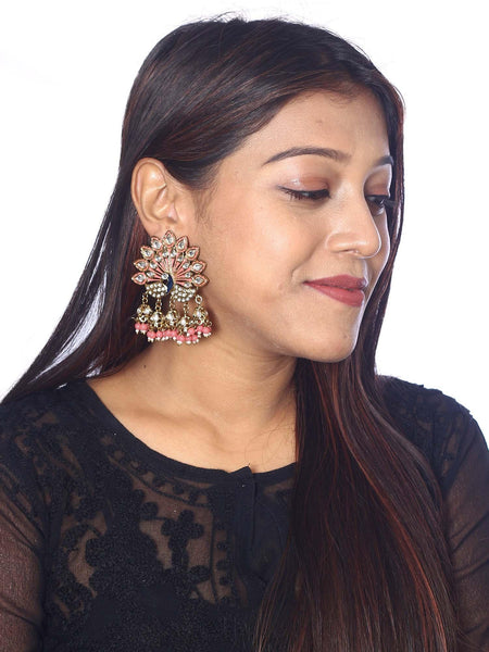 Coral Mayur Designer Earrings