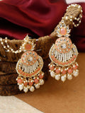 Coral Nitya Designer Earrings