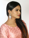 Lilac Kalavati Designer Earrings