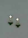 Emerald Evalyn Earrings