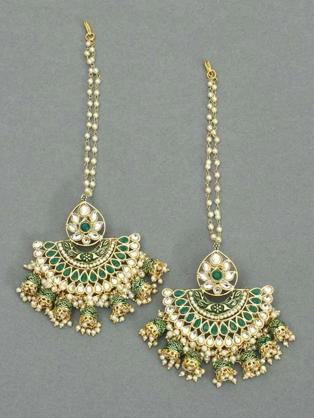 Emerald Gandira Chaandbali Sahara Earrings