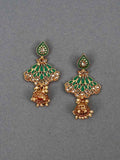 Emerald Nitara Jhumki Earrings