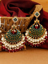 Emerald Rani Sanaya Chaandbali Earrings