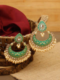 Emerald Dhairya Designer Earrings