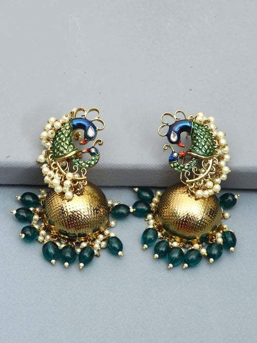 Emerald Eesa Designer Earrings