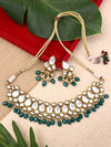 Emerald Harihara Zulree Necklace Set