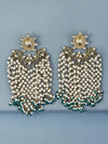 Emerald Joshna Designer Earrings