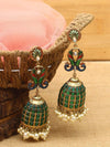 Emerald Mayank Designer Earrings