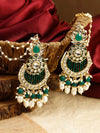 Emerald Nitya Designer Earrings