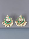 Emerald Roopsha Designer Earrings