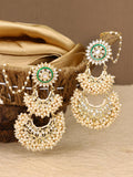 Emerald Supaksha Designer Earrings