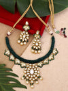 Emerald Suvarna Zulree Necklace Set