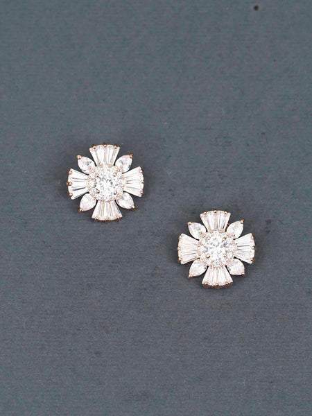 Given Zirconia Earrings