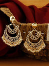 Golden Bhagya Chaandbali Earrings