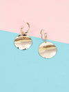 Golden Dexter Dangler Earrings