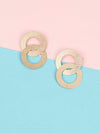 Golden Ione Dangler Earrings