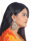 Golden Astra Drop Designer Earrings