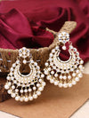 Golden Malishka Designer Earrings