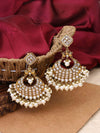 Golden Sanaya Designer Earrings
