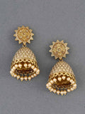 Golden Bell Ethnic Earrings