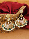 Green Sanaya Designer Earrings
