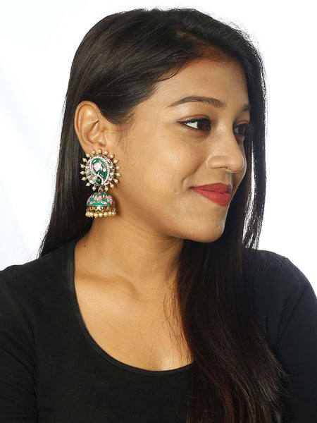 Green Lify Keri Designer Earrings