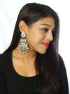 Green Pankaj Designer Earrings