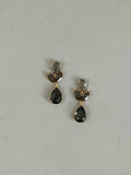 Grey Leif Crystal Earrings