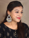Grey Keladi Designer Earrings