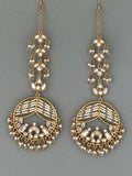 Grey Sophia Designer Earrings