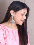 Grey Urvashi Designer Earrings