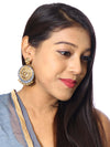 Gris Sameera Kundan Earrings