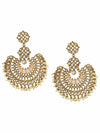 Ivory Chakra Designer Earrings