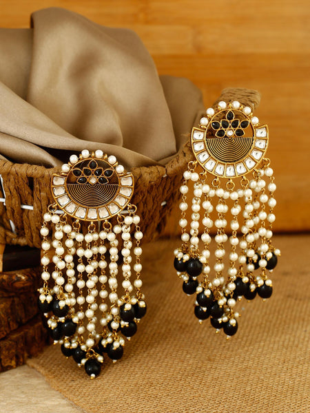 Crepe Hiron Designer Earrings