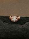 Rose Gold Jenika Zirconia Ring