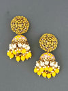 Lemon Daliha Jhumki Earrings