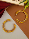 Lemon Ira Hoop Earrings