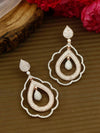 Mary Rosegold Zirconia Earrings