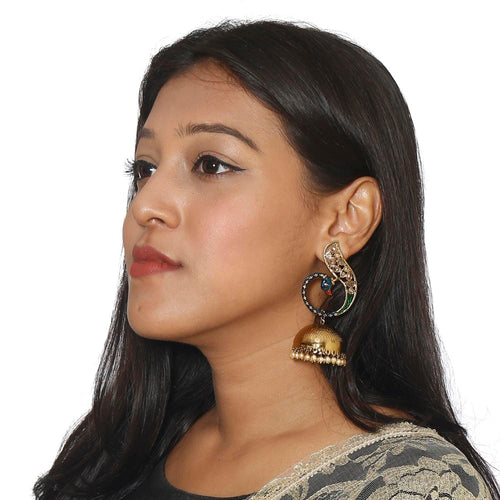 Mayur Jhumki Earrings