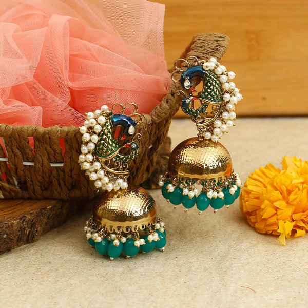 Mayur Pearl Earrings