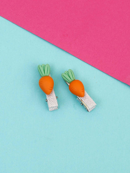 Mini Carrot Hair Pins